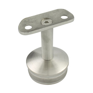 Round Rail Support for 38.1 Round Satin Tube